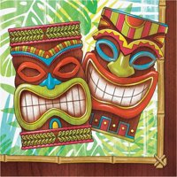 Creative Converting Tiki Time Napkins, 16 ct