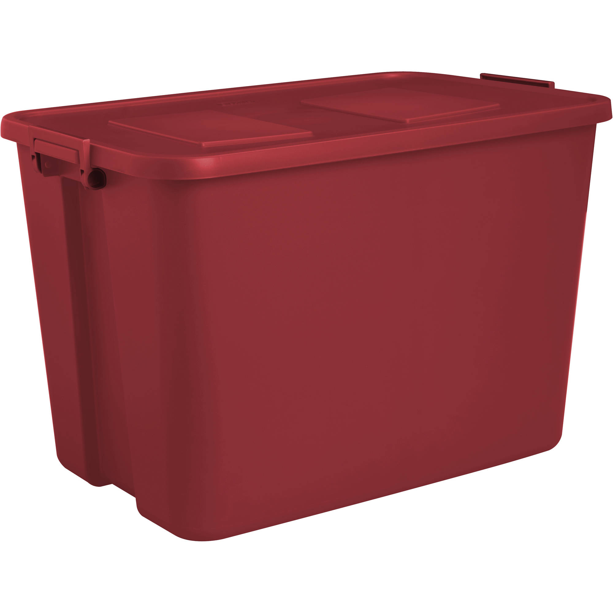 Sterilite 32-Gallon Latch Tote, Infra Red (Available in Case of 4 or Single Unit)
