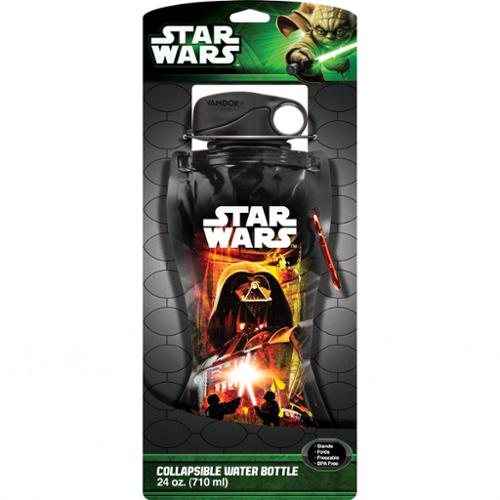Star Wars 24 Oz Collapsible Water Bottle (Vandor)
