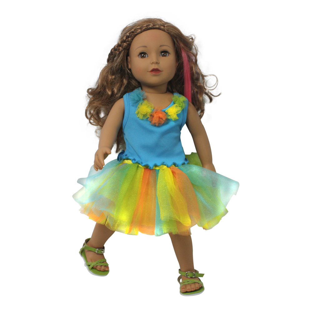 Arianna Candylicious TuTu  doll clothes Fits most 18 inch dolls