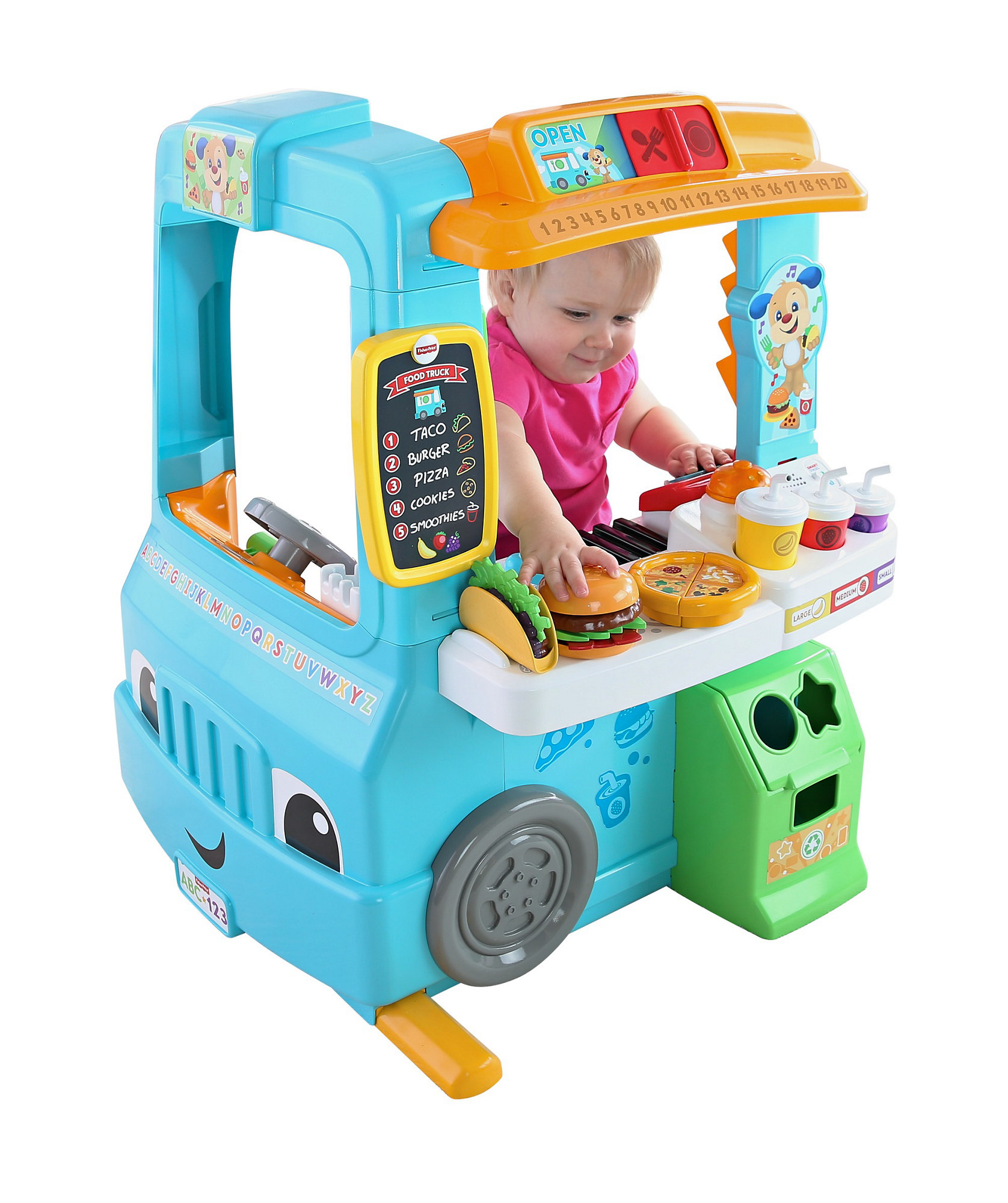 Fisher Price Laugh & Learn Servin' Up Fun Food Truck by Fisher-Price