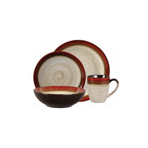 Gibson Couture Bands Stoneware Dinnerware