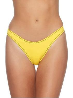 2cfb742488be8 Product Image Body Glove Women s Straight Up Bikini Bottom Yellow