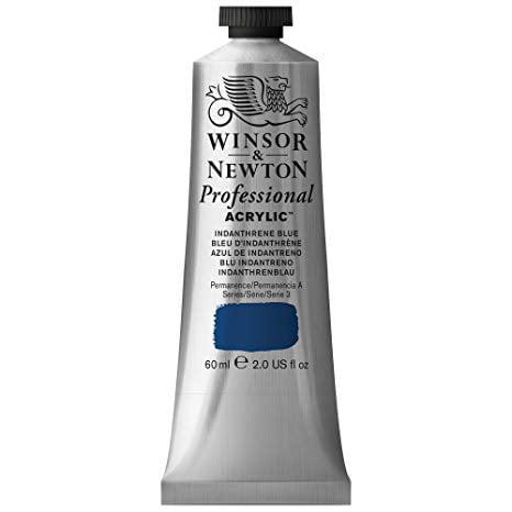Winsor & Newton - Artists' Acrylic Color - 60ml Tube - Indanthrene Blue