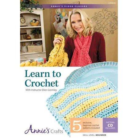 Learn to Crochet With Instructor Ellen Gormley by
