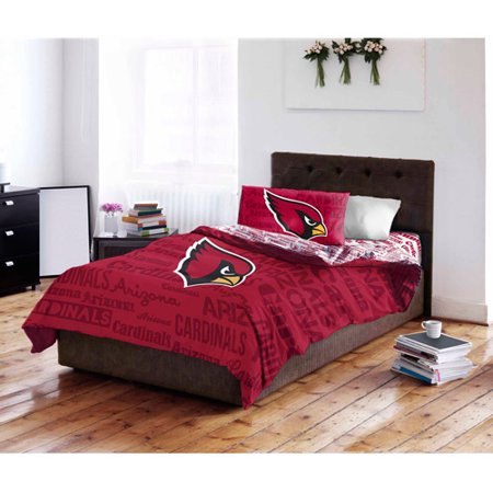 (NFL Arizona Cardinals Bed in a Bag Complete Bedding Set)