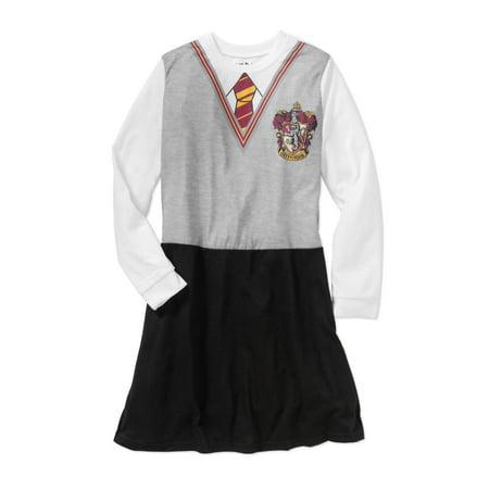 Girls' Hermoine School Uniform Sleep Gown