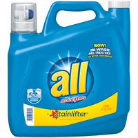 Deals on All Stainlifter Liquid Laundry Detergent, 150 Ounce, 100 Loads