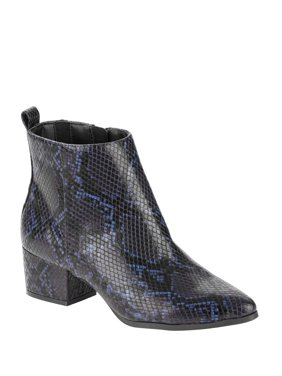 Scoop Isla Low Heel Ankle Bootie Women's