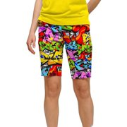 Loudmouth Golf Womens Tags 6 Shorts
