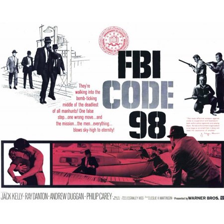 FBI Code 98 POSTER Movie Mini Promo - Go Minis Promo Code