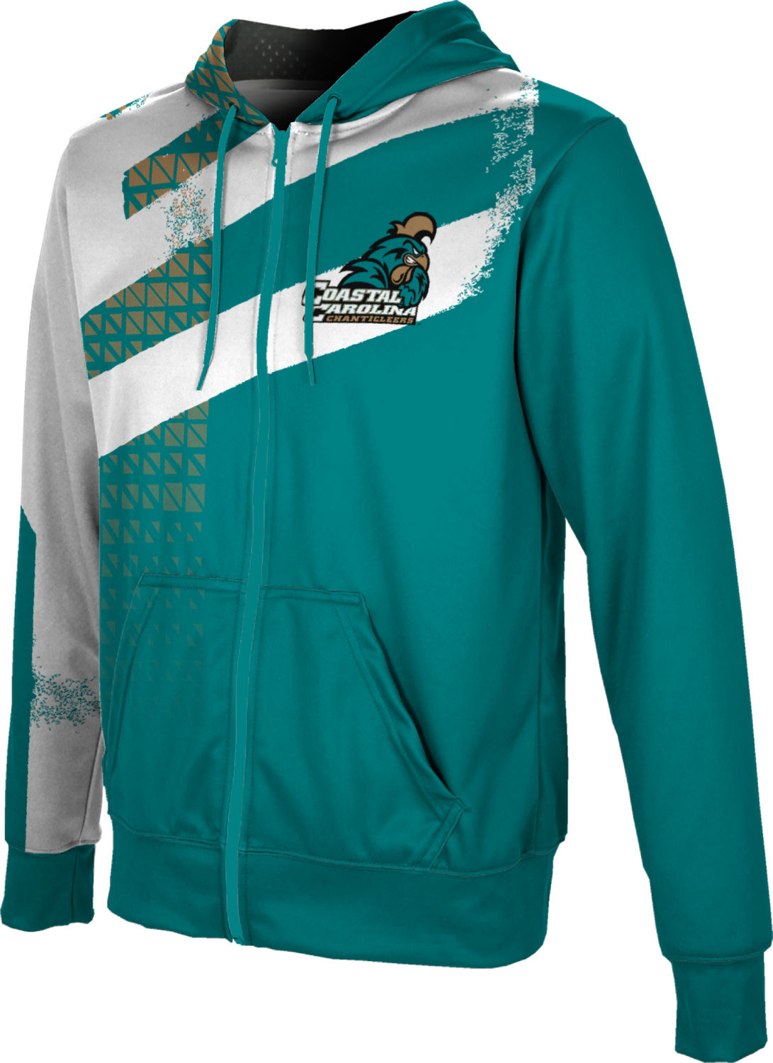 ProSphere Boys' Coastal Carolina University Structure Fullzip Hoodie