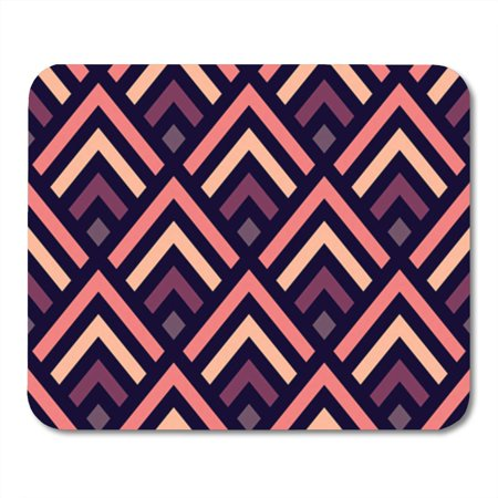 POGLIP Abstract Geometric Pattern Made of Pastel Purple and Pink Mousepad Mouse Pad Mouse Mat 9x10 inch - image 1 de 1