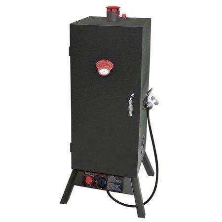Gas One Door Vertical Smoker 34 In
