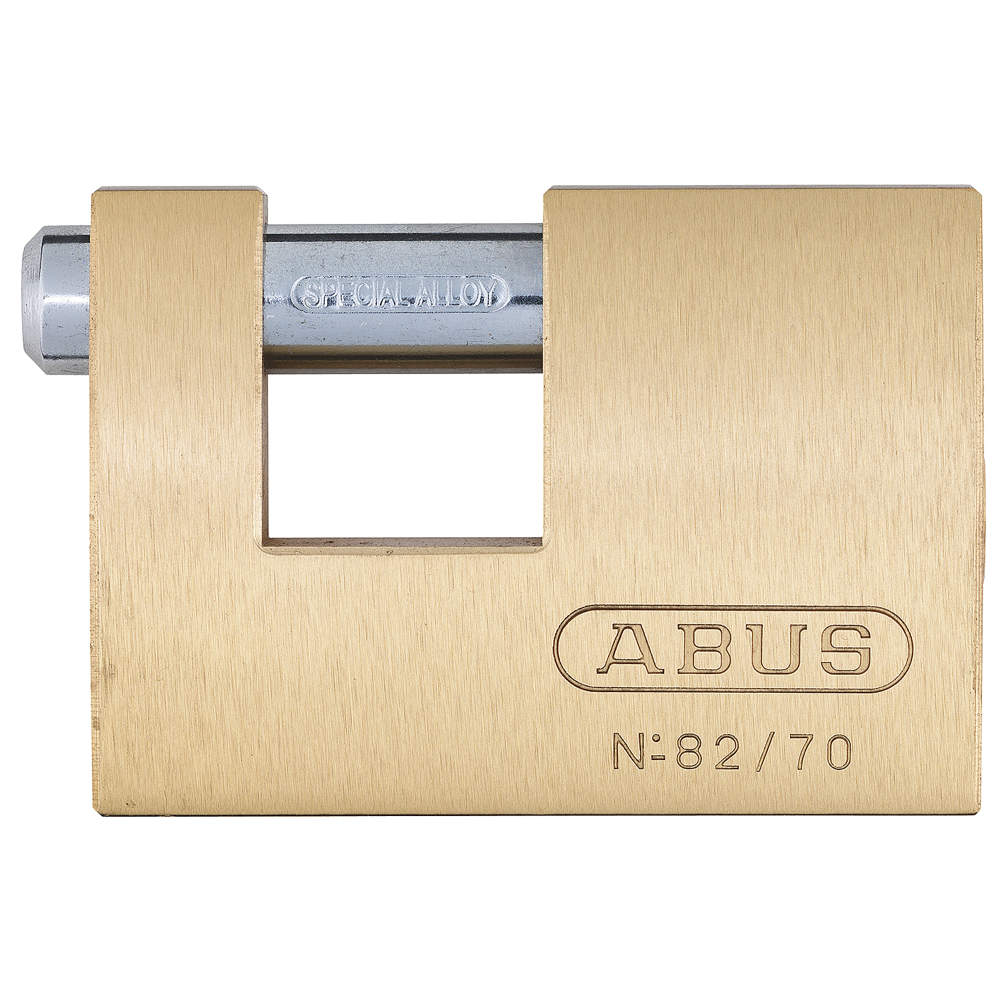 ABUS U-Shaped Keyed Padlock, 82705 ;2 In H, KD 82/70 KD