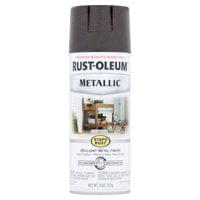 2-Pack Value - Rust-oleum stops rust metallic oil rubbed bronze brilliant metal finish spray paint, 11