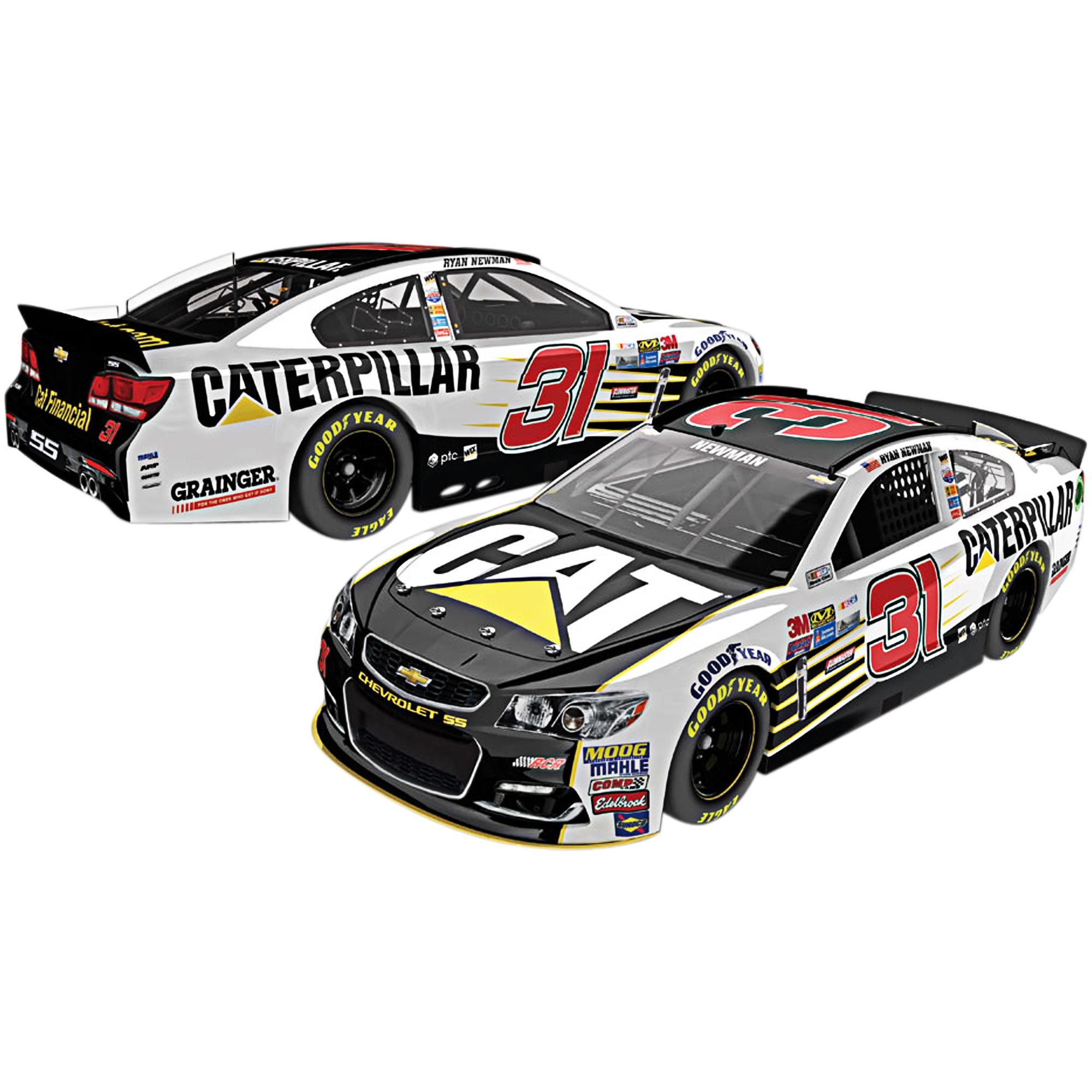 Lionel Racing Ryan Newman #31 Caterpillar 2017 Chevrolet SS 1:64th Scale Hard-Top Die-cast