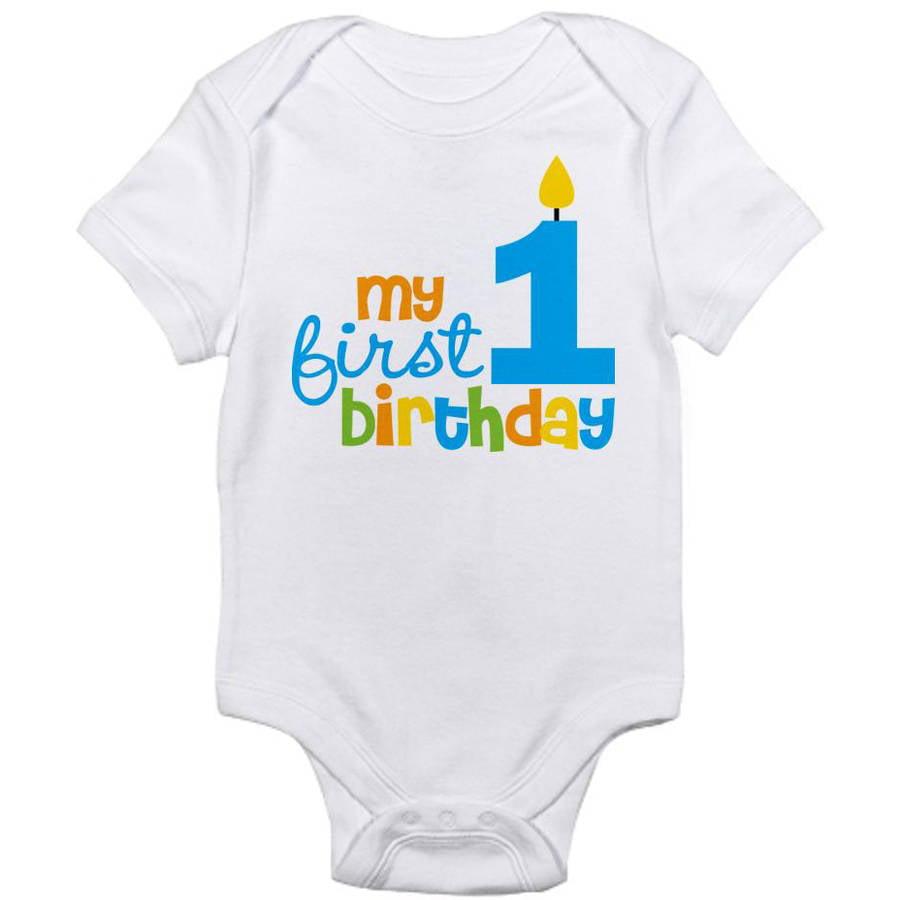 Cafepress Newborn Baby 1st Birthday Bodysuit