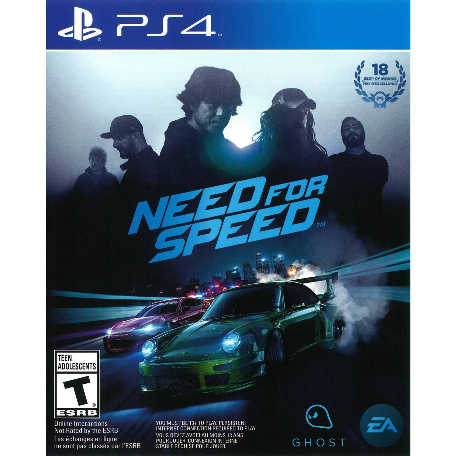 Electronic Arts Need For Speed (PS4) - Pre-Owned