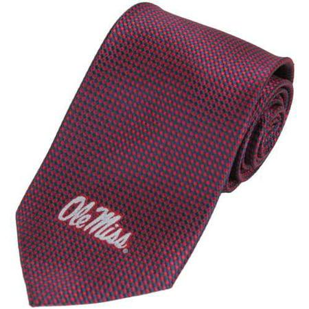 Dots Neckwear (Mississippi Ole Miss Rebels Dot Pattern Silk)