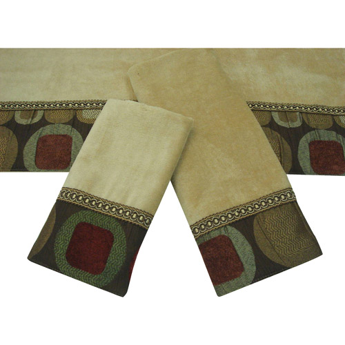 Sherry Kline Metro 3-Piece Decorative Towel Set
