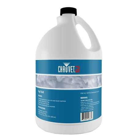 Chauvet DJ 1 Gallon Bottle of Fog Smoke Juice Fluid for Fog Machines | FJU - Party Fog Machine