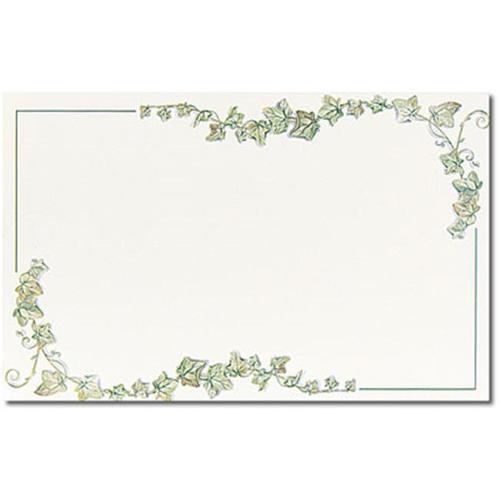 Image Shop ALE540 Ivy Border Jumbo Card