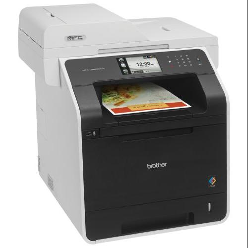 Brother Mfc-l8850cdw Laser Multifunction Printer - Color - Plain Paper Print - Desktop - Copier/fax/printer/scanner - 32 Ppm Mono/32 Ppm Color Print - 2400 X 600 Dpi Print - 32 Cpm (mfc-l8850cdw)