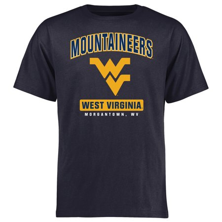West Virginia Mountaineers Campus Icon T-Shirt - Navy