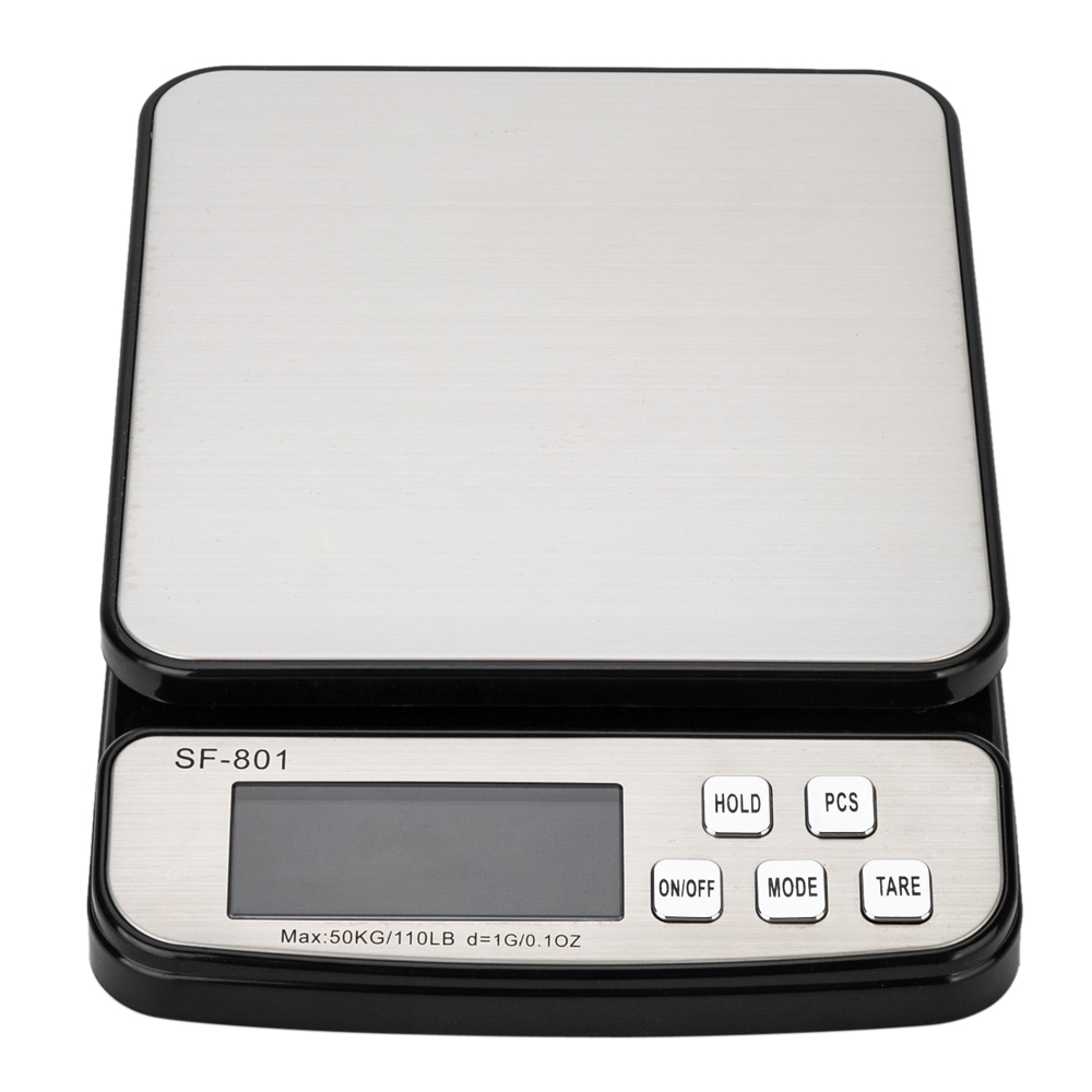 50kg   10g Digital Postal Scale with Adapter by