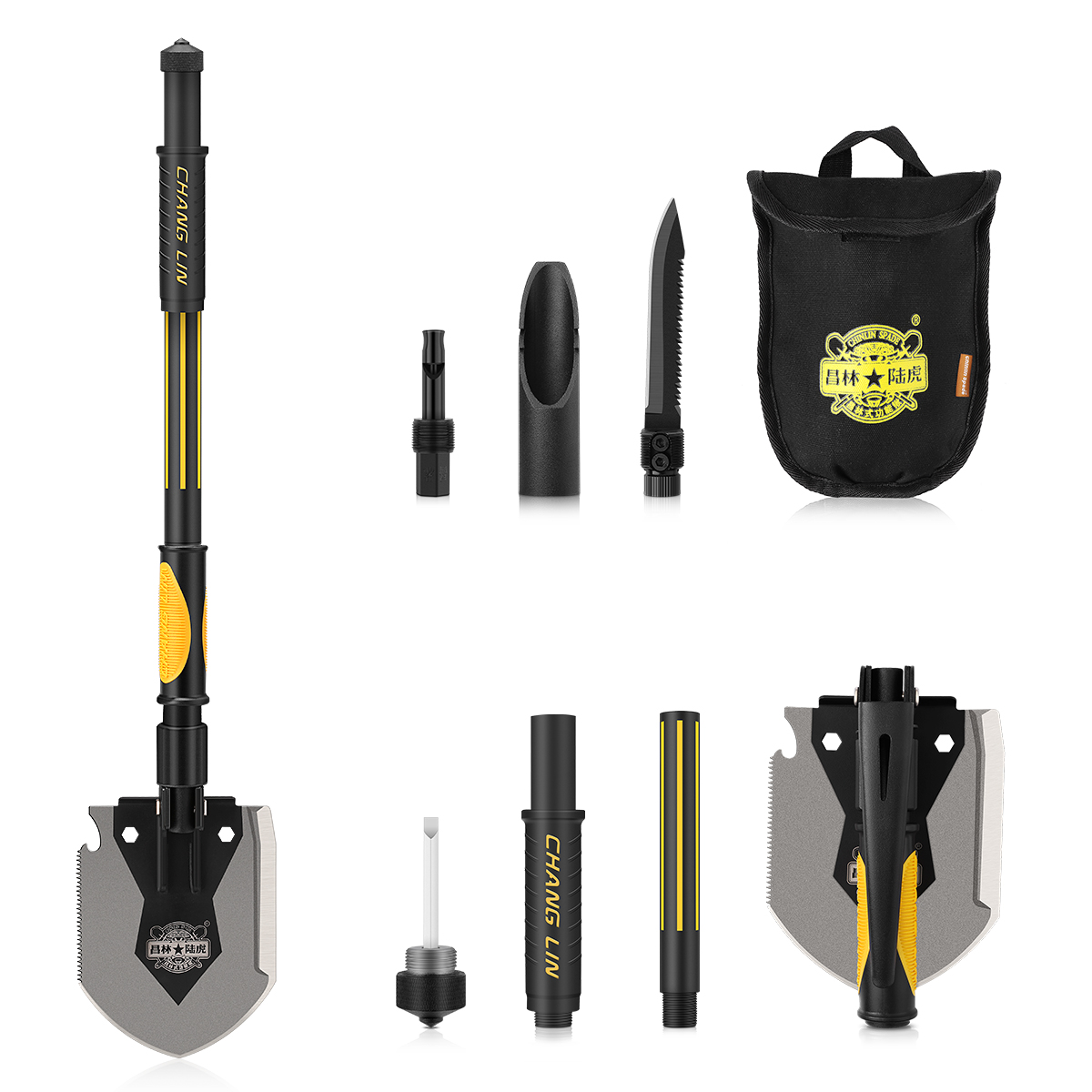 CHANGLIN SPADE 1603 Multi-function Folding Shovel by