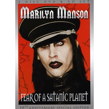 Fear of a Satanic Planet (DVD + CD) - List Of Satanic Movies