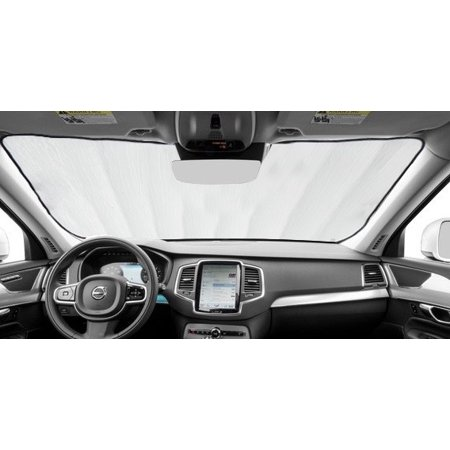 Sunshade for Toyota Highlander With Windshield-Mounted Sensor 2014 2015 2016 2017 2018 2019 Custom Fit Windshield (Best Sun Protection For Face 2019)