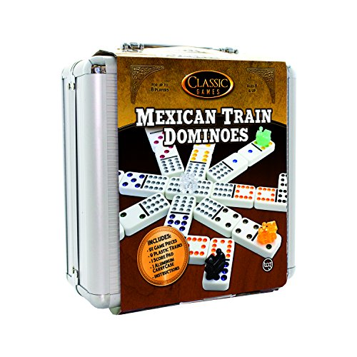 TCG Toys Mexican Train Game with Aluminum Case - image 1 de 1