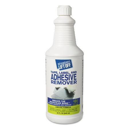 Tar Remover - Motsenbocker's Lift-Off 2 Adhesive/Grease/Oil Stain Remover, 32oz, Bottle, 6/Carton