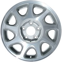 Aftermarket 1997-2000 Buick Regal  16x6.5 Aluminum Alloy Wheel, Rim Light Gray Painted with Machined Face -4030
