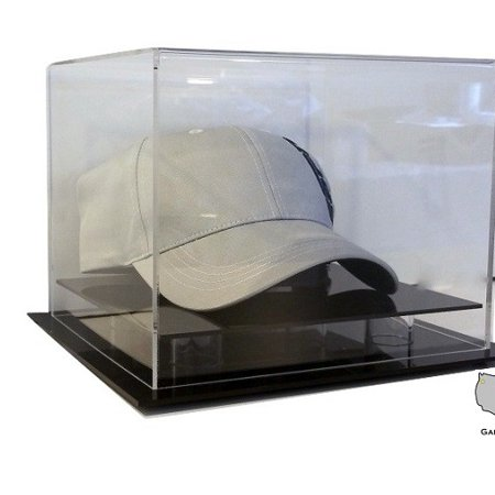 Acrylic Desk or Table Top Hat or Cap Display Case by GameDay Display Acrylic Cap Display Case