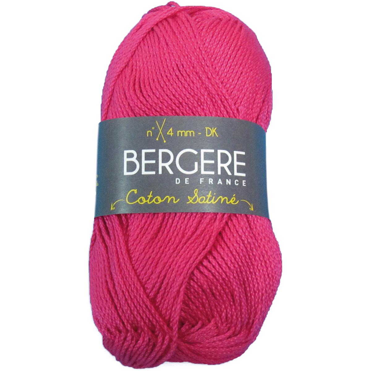 Bergere De France Coton Satine YarnFushia