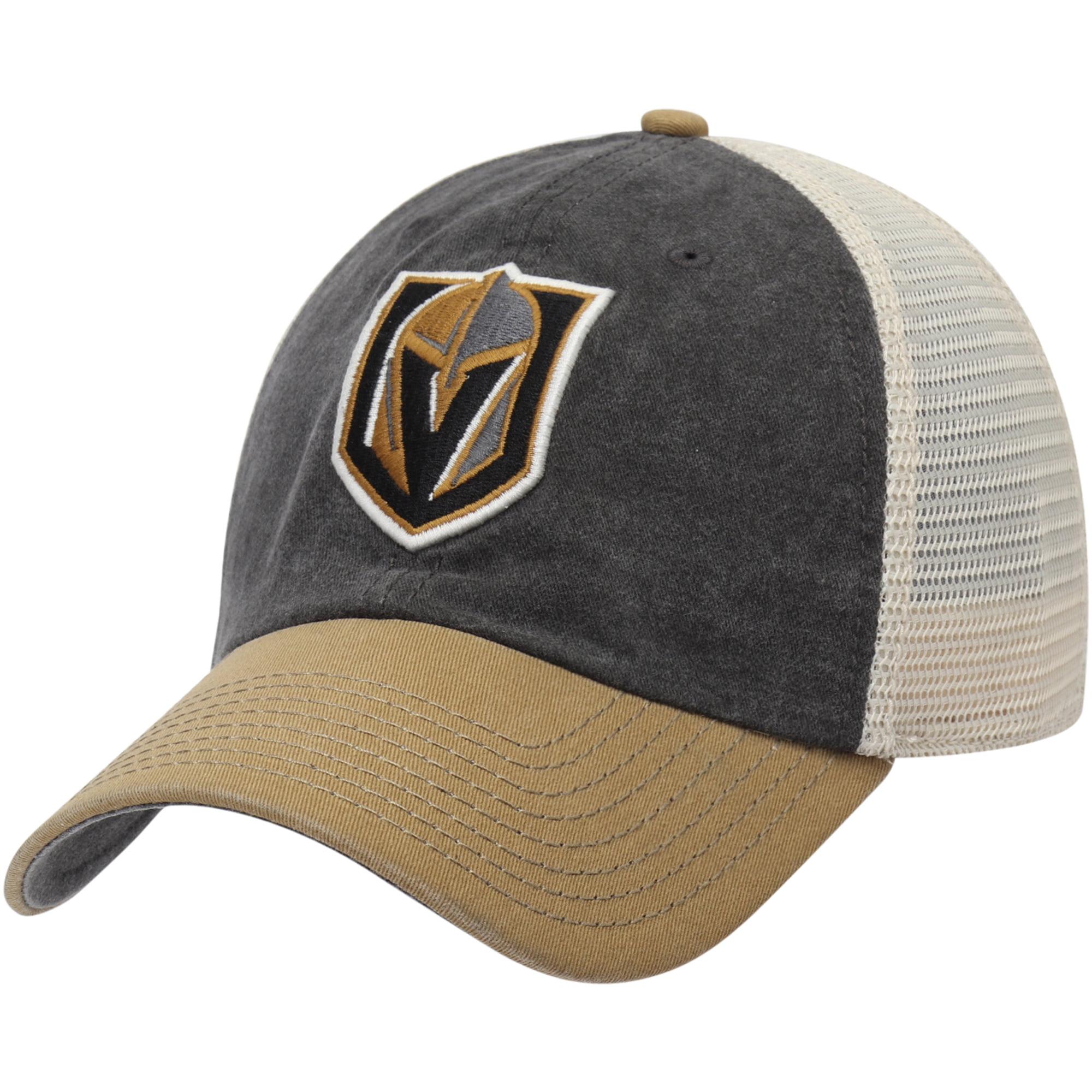 Vegas Golden Knights American Needle Hanover Unstructured Adjustable Hat - Gray/Vegas Gold - OSFA