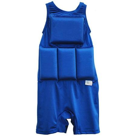 Royal Fiber 80 Lb Cover - My Pool Pal Girl's or Boy's Swimwear Flotation Swimsuit Fits Kids 20-70 lb (Royal, X-Small (20-30 lbs))