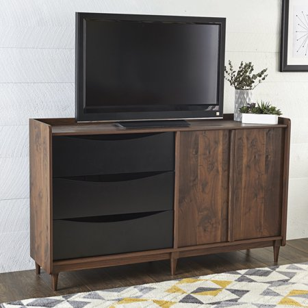 Better Homes And Gardens Montclair Tv Stand Vintage Walnut