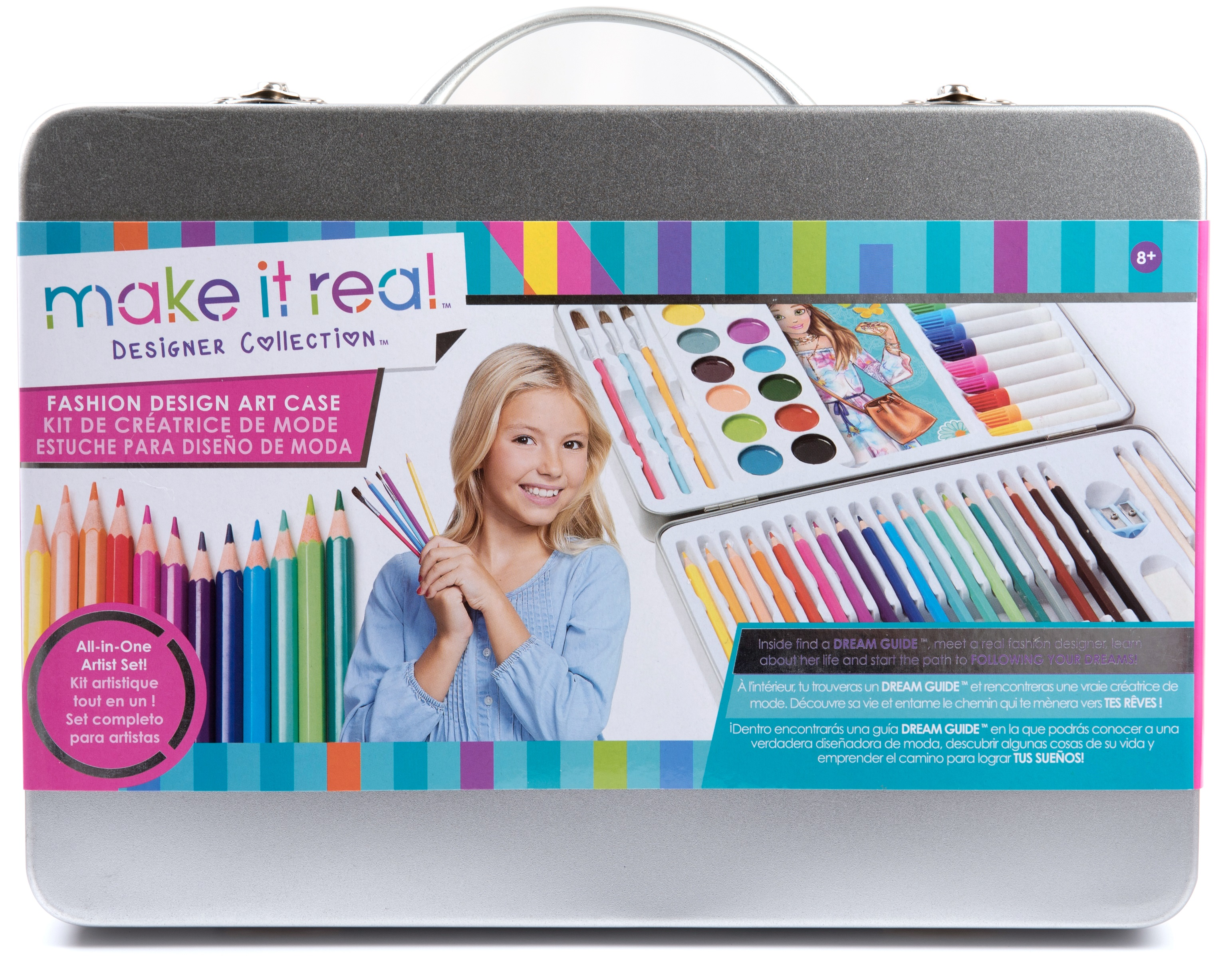 Make It Real Fashion Design Art Case Walmart Com Walmart Com