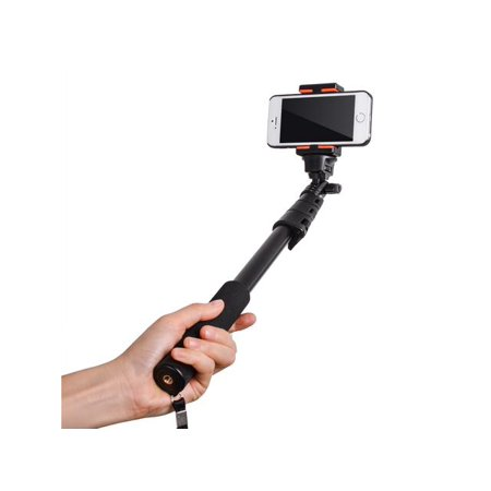 Extendable Handheld Telescopic Pole Arm Monopod + Tripod Adapter For GoPro Hero 1/2/3 And Mobile Phone