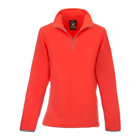 - JGS Outfitters Polar Fleece Pullover Jacket For Women Lightweight Half Zip Sweater Coat Top For Winter