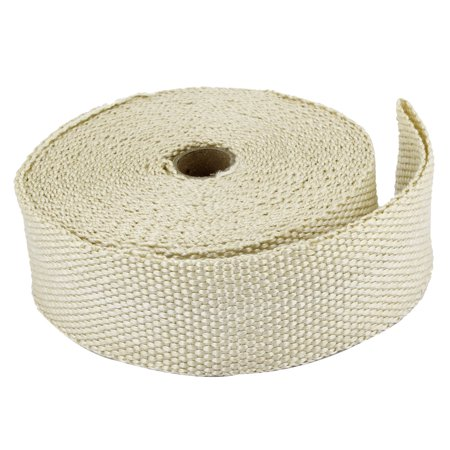 5cm Width 13M Length Fiber Exhaust Header Wrap Insulating Tape Kit Beige - image 1 of 1