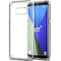 Samsung Galaxy S8 Case Cover | Clear TPU with Slim Protection | VRS Design Crystal Mixx for Samsung Galaxy S8
