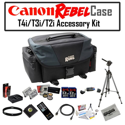 Canon REBEL Gadget Bag For EOS or Rebel Cameras with Two ...