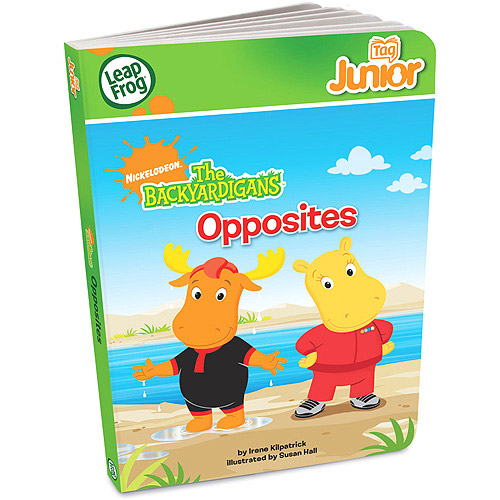 LeapFrog Tag Junior Book: The Backyardigans Opposites