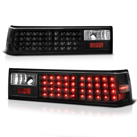 VIPMOTOZ LED Tail Light Lamp Assembly For 1988-1993 Ford Mustang
