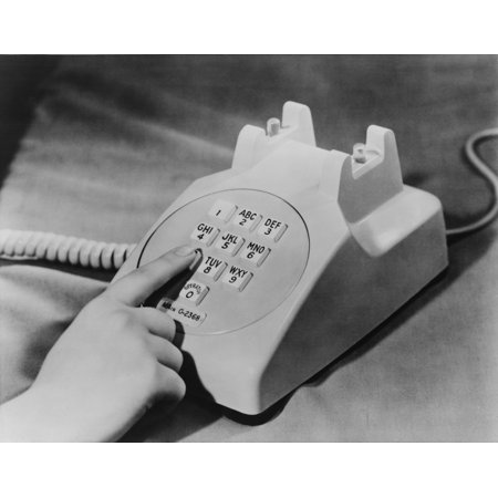 - Bell Telephone Company Introduced The Push-Button Telephone In 1959 To Replace The Rotary Dial Phones The Phone Used Newly Available Transistors To Produce Its Many Tones With Electronic Oscillators H